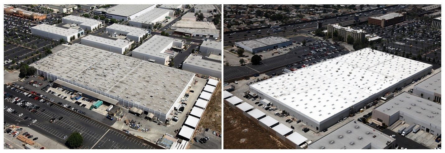 Highland Commercial Roofing Reroofs 210 000 Square Foot